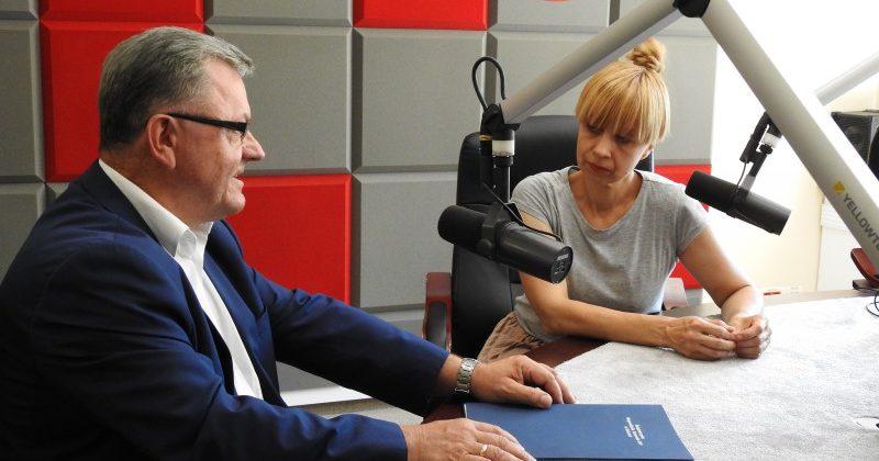 RADIO EM KIELCE O OCHOTNICZYCH HUFCACH PRACY