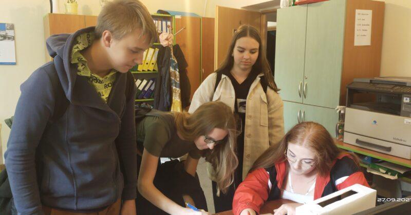 Wybory do Rady Młodzieży i Klubu Aktywnych w 13-3 HP w Kielcach